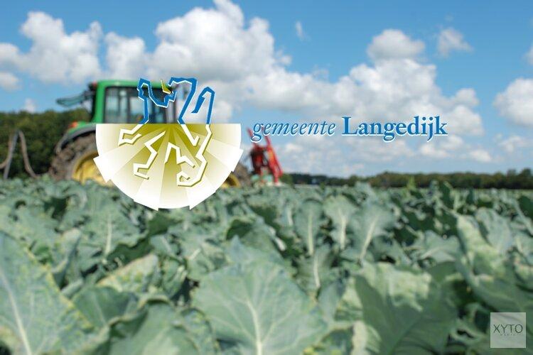 Begroting gemeente Langedijk 2020