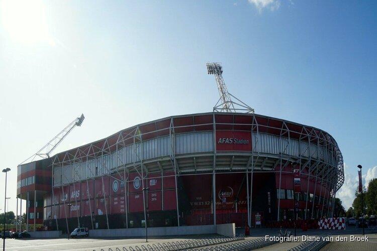 """Ook hoofdtribune AZ-stadion krijgt nieuw dak: """"Veiligheid van onze fans staat voorop"""""""