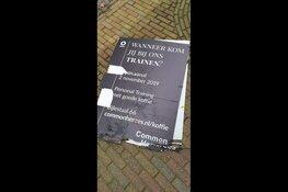 Jonge sportieve ondernemers uit Langedijk worden geteisterd door vandalisme