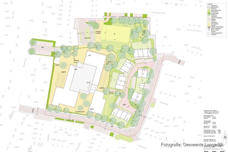 Plannen IKC Sint Pancras aangepast
