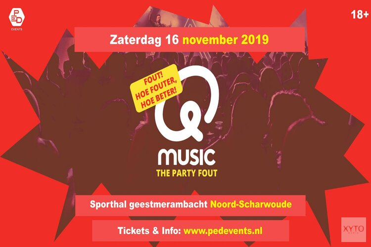 Q-Music The party 16 november Sporthal Geesmerambacht!