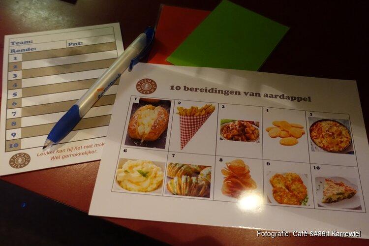 Zaterdag 9 november quiz Café 't Karrewiel