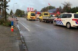 Fietser naar ziekenhuis na aanrijding in Oudkarspel