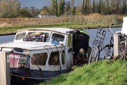 Gevaarlijke situatie op boot in Oudkarspel