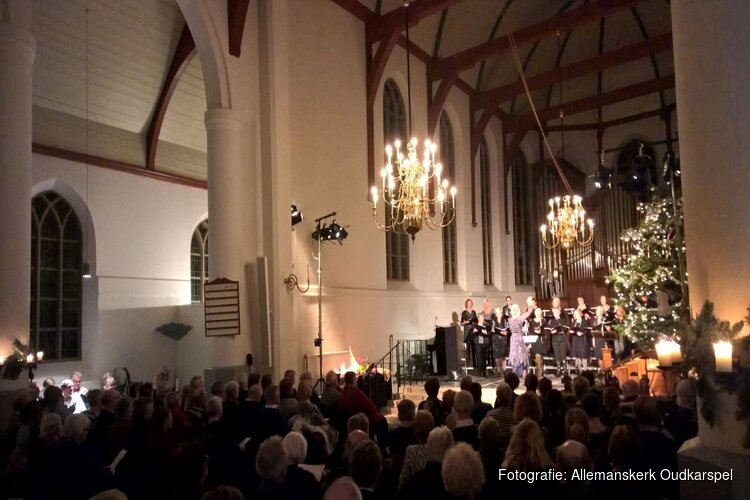 "Kerstconcert ""Gaudete!"" Allemanskerk, Oudkarspel"