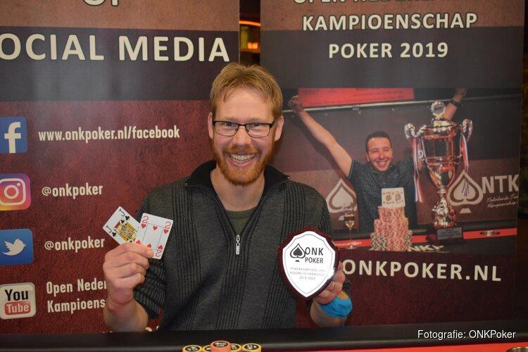 Rob Kuin is Pokerkampioen van Noord-Scharwoude