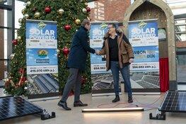 Wethouder Langedijk feliciteert Van den Heerik Projecten met verduurzaming