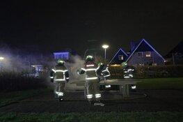 Brand in speeltuin Broek op Langedijk