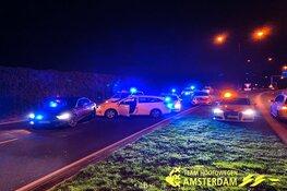 Gevluchte automobilist klemgereden op N242