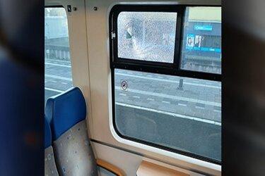 "Slachtoffer van treinbekogeling: ""Echt bizar, ik haalde het glas nog uit m'n ondergoed"""