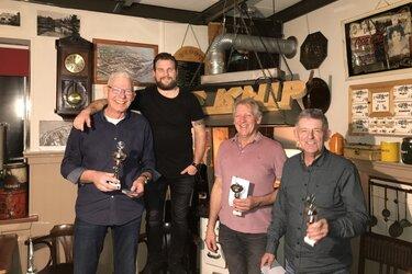 Open Langedijker Kampioenschap Driebanden 2020 wordt prooi voor Dirk Snip