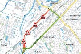 Automobilisten opgelet: Westerweg (N242) tijdelijk afgesloten