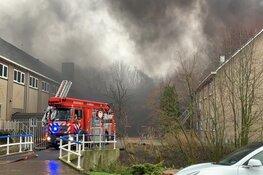 Brand bij Alkmaarse middelbare school onder controle: alle verdiepingen getroffen