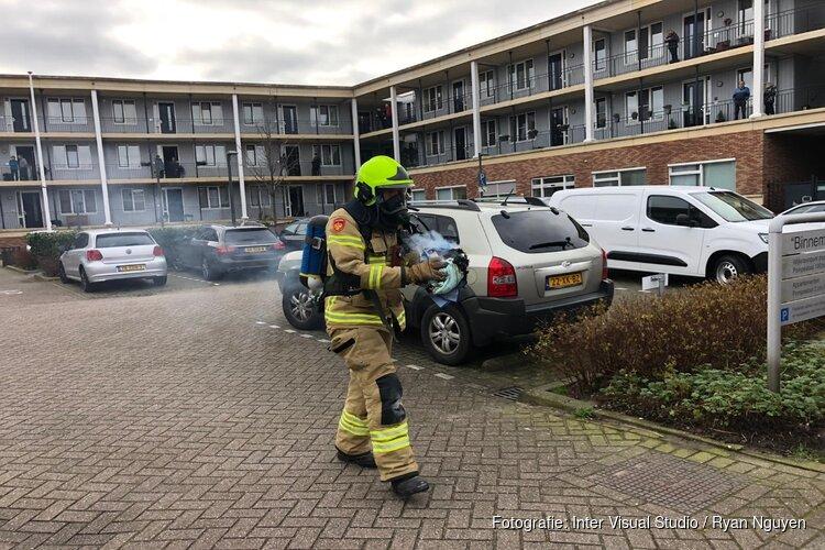 Keukenbrandje in wooncomplex