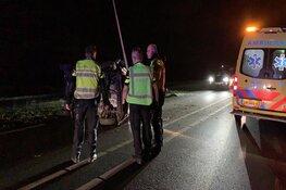 Auto gecrasht op N242