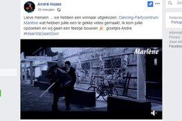 Dancing Marlène wint kroegactie André Hazes