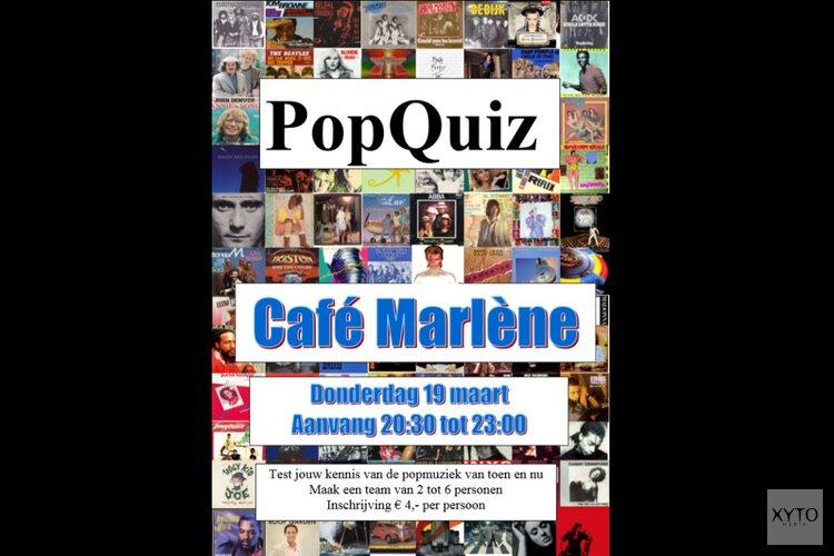 PopQuiz in Marlène vanaf 19 maart