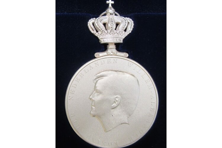 Koninklijke Erepenning voor honderdjarige gymnastiekvereniging DVV