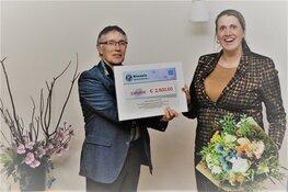 Kiwanis Heerhugowaard e.o. steunen stichting Jaski Fonds met een belangrijke financiele bijdrage