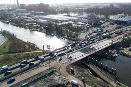 Einde ellende rond Leeghwaterbrug in zicht