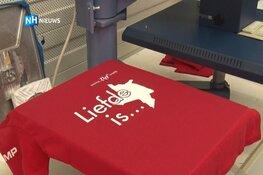 Langedijker t-shirts nog lang niet uitverkocht