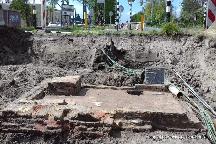Historische vondst bij werk LARGAS en rotonde Noord-Scharwoude (N504)