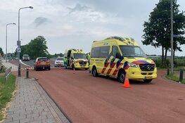 Scooter onderuit in Sint Pancras, twee gewonden