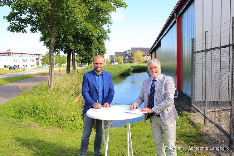 Plan voor woningen aan doorvaarbaar water op voormalig rodeoterrein Broek op Langedijk
