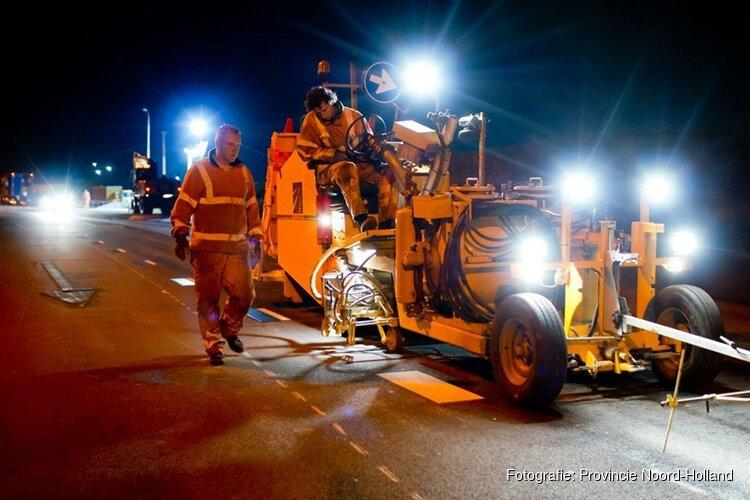 Deze maand veel reparatiewerkzaamheden Westerweg (N242)