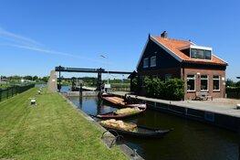 Storing sluisdeur Broek op Langedijk