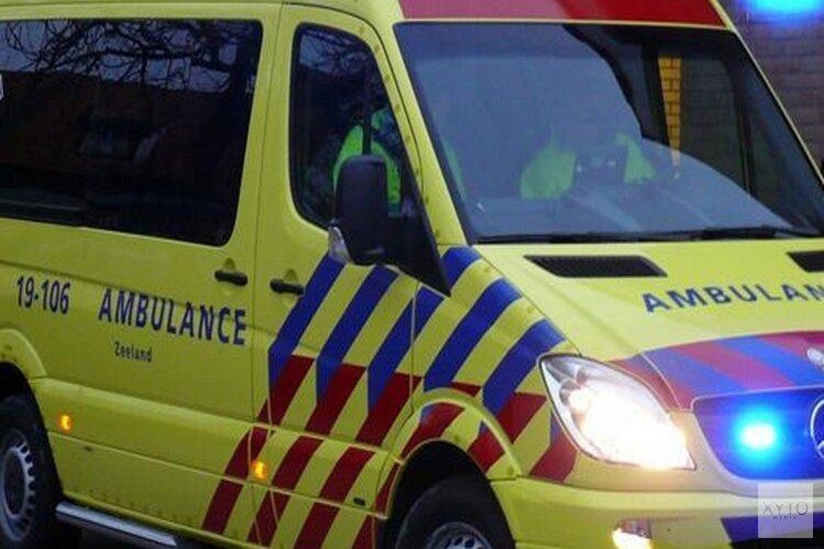 Scooterrijder gewond na ongeval Voorburggracht
