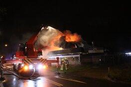 Voormalig wokrestaurant volledig verwoest, buurtbewoners opgevangen in hotel