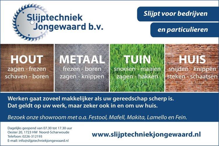 Slijptechniek Jongewaard: Meer dan slijpen alleen!