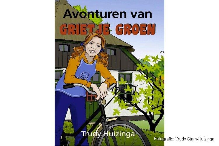 """""""Avonturen van Grietje Groen"""". Schrijfster Trudy Stam-Huizinga (85) brengt levenswerk uit"""