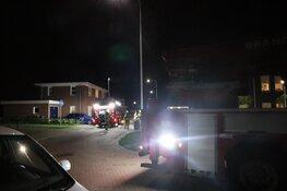 Schoorsteenbrand in woning Broek op Langedijk