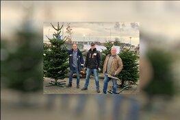 Kerstbomenverkoop Piekfijn weer in actie.
