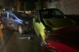 Veel schade na ongeval in Zuid-Scharwoude