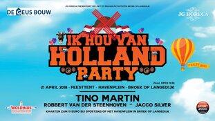 Ik hou van Holland tijdens Koningsdag in Broek op Langedijk