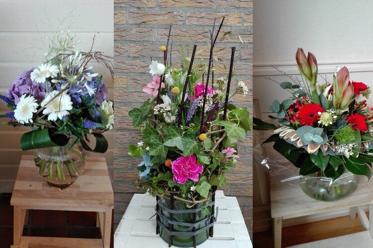 Elke 2 weken verse bloemen of een mooi boeket!