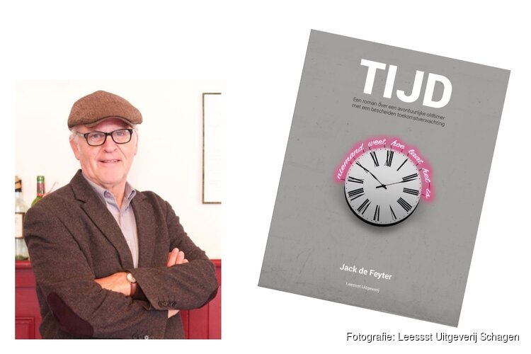 Jack de Feyter signeert nieuwste roman in Boekhandel de Kameleon