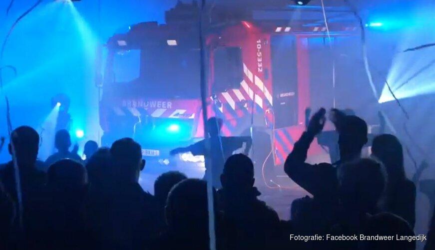 Nieuwe tankautospuit voor Brandweer Langedijk
