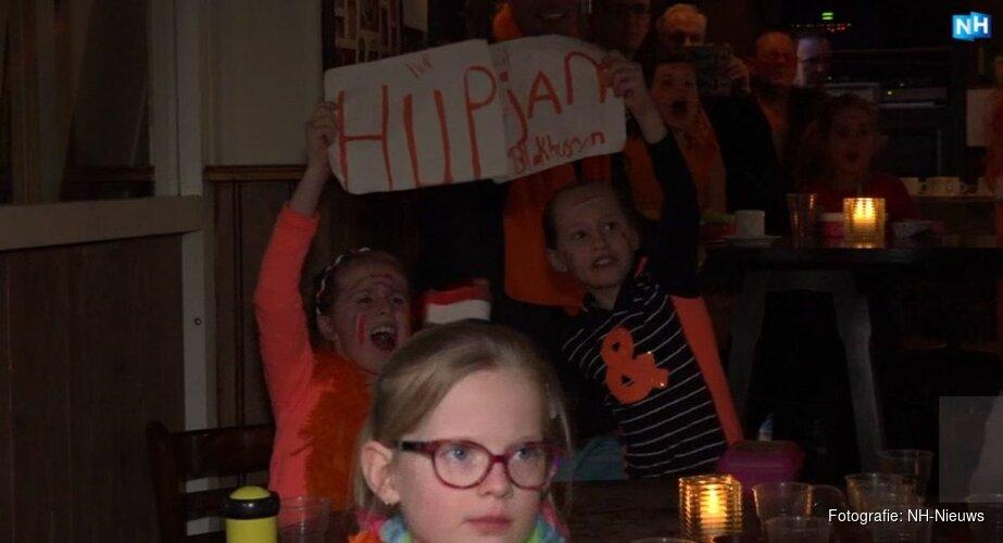 Leerlingen trots op oud-schoolgenoot Jan Blokhuijsen: ''Het feit dat hij al mee mag doen, vind ik heel knap'
