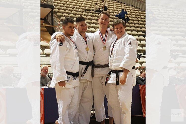 Brons voor Matthijs Snijders op NK judo