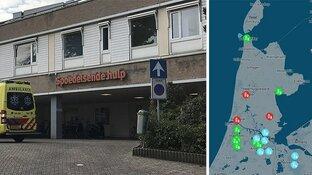 Griepepidemie houdt huis in Noord-Holland: beddentekort in deze ziekenhuizen