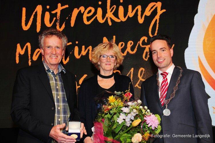 Penning van verdienste voor Anne Oostenveld
