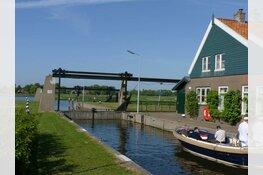 Sluis Broek op Langedijk dicht