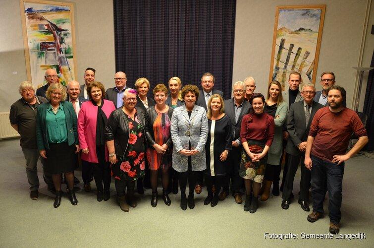 Nieuwe gemeenteraad Langedijk