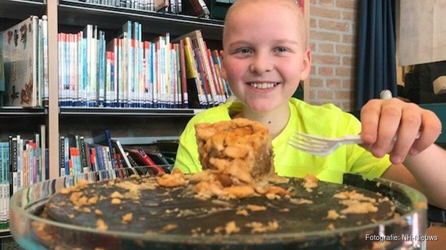Hartverwarmende actie: kinderen bakken taarten voor ernstig zieke Bas (9)