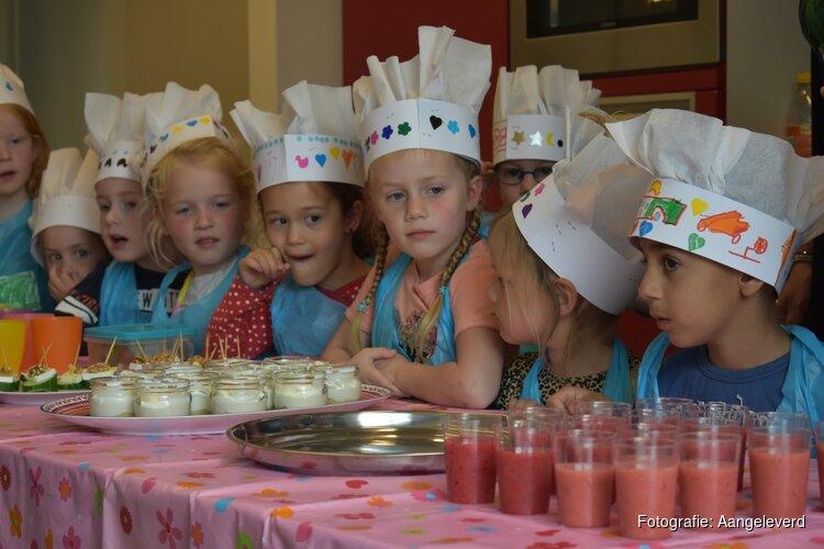 Kleine kokkies trakteren moeders op high tea