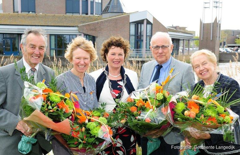 Koninklijke Onderscheiding in gemeente Langedijk